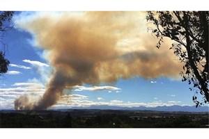 """تخلیه صدها گردشگر از جزیره""""ساموس"""" در یونان به دلیل آتشسوزیهای طبیعی"""