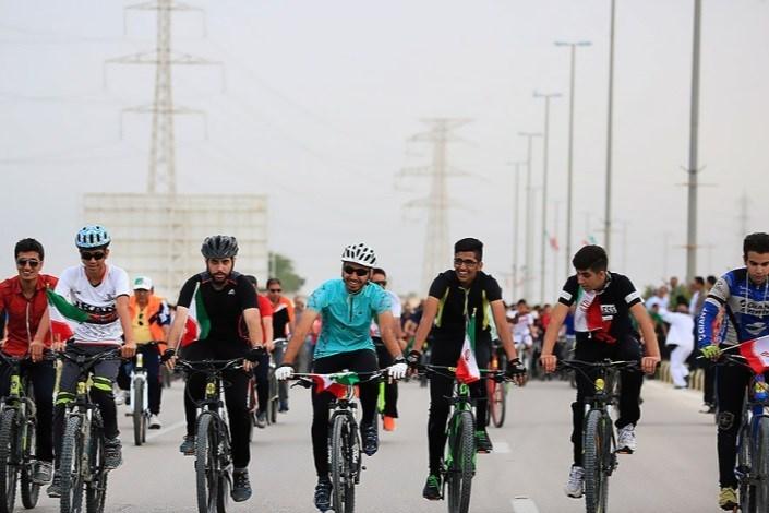 برگزاری دومین همایش بزرگ دوچرخه سواری