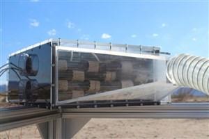 تولید آب از هوای خشک و گرم  توسط محققان دانشگاه برکلی کالیفرنیا