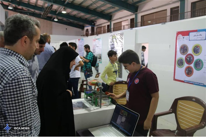 نهمین دوره جشنواره مسابقات رباتیک دانش آموزی