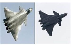 معرفی جنگنده رادار گریز جدید چین