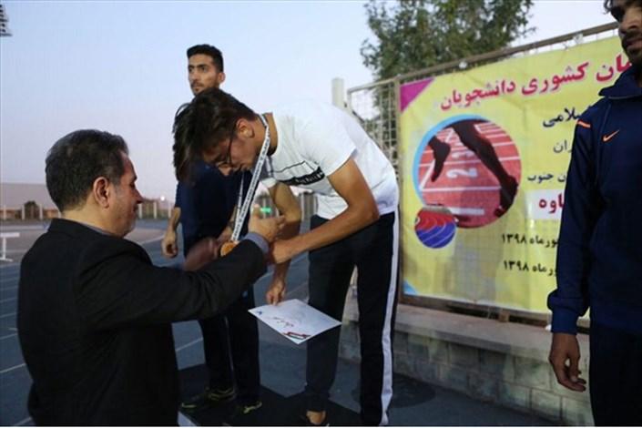 نفرات برتر مسابقات دوومیدانی دانشجویان دانشگاه آزاد اسلامی کشور معرفی شدند