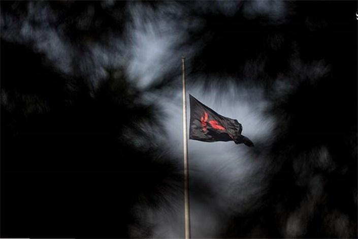 اهتزاز پرچم «امام حسین (ع)» در اراضی عباسآباد