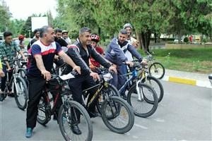 همایش دوچرخه سواری همگانی در گرگان برگزار شد