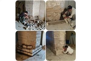 آغاز مرمت بخشهایی از مسجد جامع شوشتر