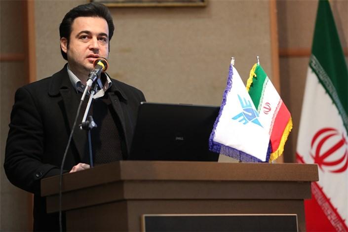 علی مهراس مهرابی معاون پژوهش دانشگاه آزاد اسلامی واحد کرمانشاه