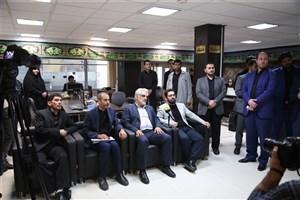 بازدید رئیس دانشگاه آزاد اسلامی از ایسکانیوز