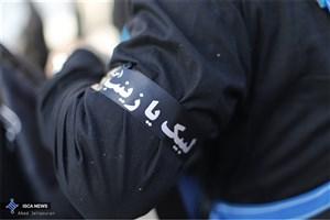 خدمت به زائران اربعین توسط دانشجویان دانشگاه آزاد اسلامی در  موکب امت محمد(ص)