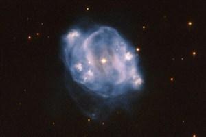 تصویر آخرین مرحله از عمر یک ستاره