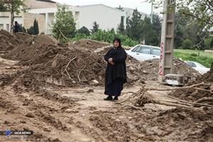 بازسازی مرکز بهداشت روستای سیل زده ترکمن به همت کارکنان بنیاد مستضعفان