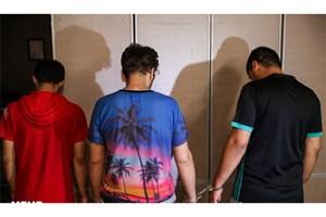 باند سه نفره سارقان لوازم خودرو در تهرانپارس دستگیر شدند