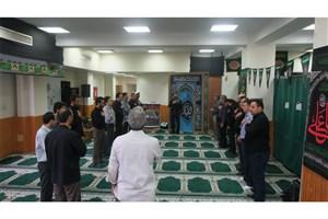 عزاداری دانشگاهیان واحد رامسر در سوگ سالار شهیدان