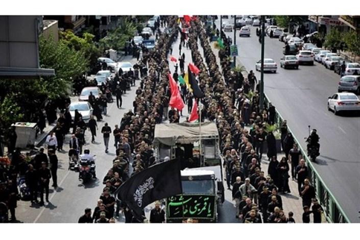 محدودیت های ترافیکی معابر تهران