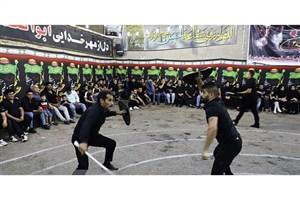 برگزاری آئین محرمی چوبزنی در دزفول