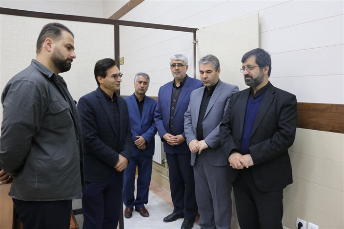 بازدید استاندار اردبیل از طرحهای تحولی و سرای نوآوری دانشگاه آزاد اسلامی اردبیل