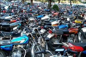 ترخیص بیش از 2 هزار موتورسیکلت توقیفی تا هفته آینده