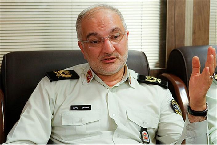 زاهدیان رئیس پلیس مبارزه با مواد مخدر ناجا