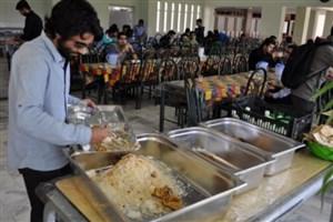 مهلت ارائه اطلاعات تغذیه دانشگاهها اول مهرماه به پایان میرسد