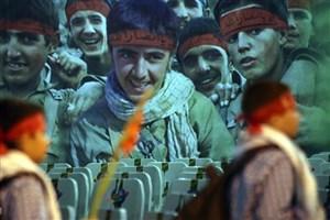 نواخته شدن  نهمین زنگ دانش آموز شهید در بهشت زهرا