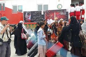 برپایی موکب در مرز میرجاوه توسط دانشگاهیان استان سیستان و بلوچستان/ اسکان 4 هزار زائر پاکستانی