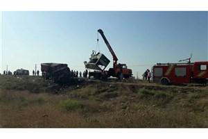 معاینه 13 جسد تصادف مینی بوس در گلستان