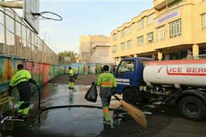 تمهیدات شهرداری منطقه13 برای بازگشایی مدارس