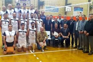 پایان مسابقات قهرمانی والیبال استان آذربایجانشرقی/ از برترینها تجلیل شد