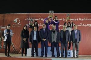 بانوان دانشگاه آزاد اسلامی قهرمان لیگ برتر دوومیدانی باشگاههای کشور شدند