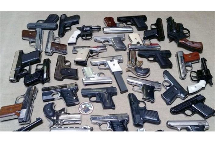 جمع آوری بیش از ۲۰۰ قبضه سلاح جنگی و شکاری غیرمجاز