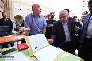 بازدید آقامیری از روند ثبتنام دانشجویان جدیدالورود واحد تهران مرکزی