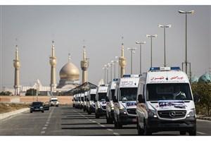 استقرار 1100 آمبولانس، 44 اتوبوس آمبولانس و 15 فروند بالگرد درمرزها