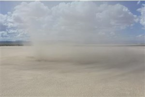 شناسایی طوفانهای مریخی با پرواز پهپادی در گردباد