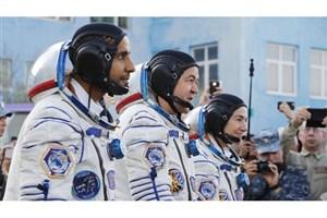 نخستین فضانورد اماراتی به ایستگاه فضایی بین المللی رسید