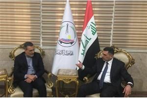جابری انصاری به عراق سفر کرد