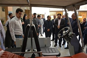 Mashhad IAU Unveils Electric Vehicles for Carrying Patients
