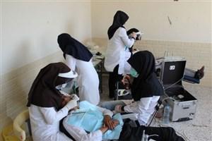 ویزیت رایگان دندانپزشکی موکبداران عراقی/ 44 پزشک در موکب واحد علوم و تحقیقات فعالیت میکنند