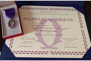 Notable Iranian Mathematician Receives Palmes Academic Award