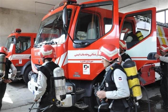 کمبود تجهیزات آتش نشانی