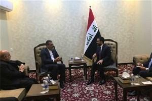 دیدار جابری انصاری با رئیس مجلس عراق