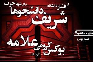 متن و حاشیه4| از فشار دانشگاه شریف برای مهاجرت تا رینگ بوکس گروهی علامه