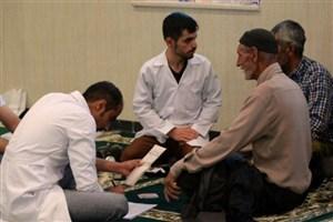کردستان مقصد جدید  خدمات درمانی گروه جهادی منتظران ظهور شد
