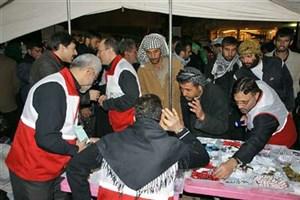 انتقال ۱۶۰ تن دارو به عراق/ راهاندازی ۶۰ پایگاه درمانی در مسیر اربعین
