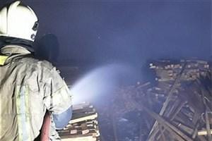 آتش به جان  سه سوله بزرگ مصنوعات چوبی در چهاردانگه افتاد