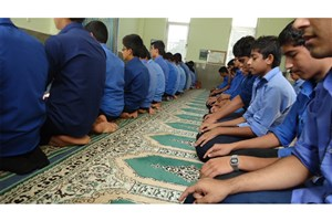 حضور در نماز جماعت مدارس اختیاری است