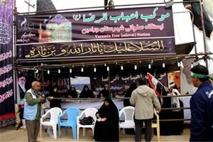 حضور بانوان بسیجی به عنوان مبلغ اسلامی درموکب های ایرانی