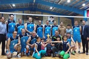 تیم والیبال واحد تنکابن قهرمان استان مازندران شد