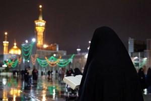 تشرف دختر 20 ساله مسیحی ایتالیایی  به دین اسلام در مشهد مقدس