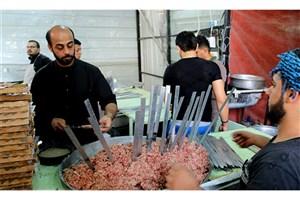 ۲۹ میلیون پرس غذا برای پذیرایی از زائران پخت میشود