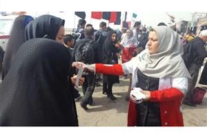 نشانی پایگاههای هلالاحمر در عراق در ایام پیادهروی اربعین