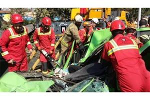 هویت اولیه و احتمالی فوت شدگان حادثه واژگونی جرثقیل اعلام شد
